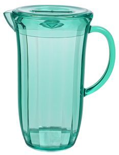 Quench your thirst with a pitcher of Pimms or cordial served in this brightly coloured jug.
