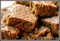 Grain-Free Paleo Gingerbread #LifeAsAPlate