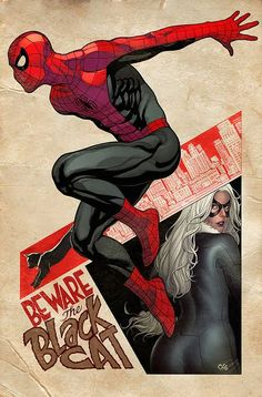 Spidey's Sense..., by Frank Cho. - visit to grab an unforgettable cool 3D Super Hero T-Shirt!