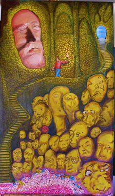 "#""mi limbo""#oleo sobre lienzo#oil on canvas @carlosjmaza"