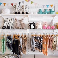Little for Mini, Children's Clothing & Decor, Karlsborg, Sweden  www.littleformini.se Shop interior, visual merchandising. #barnbutik #minirodini #ommdesign #norsu #ilovenoodoll