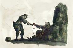 Dark Souls: Trials of the Chosen Undead, Xavier Garcia on ArtStation at https://www.artstation.com/artwork/LrGxr