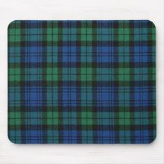 Lovely green and blue tartan plaid mouse pad. The Campbell clan plaid in all it's glory to decorate your desk. Customize if you want to add any text, makes a great gift too. Campbell Tartan, Campbell Clan, Sparkles Glitter, Rose Gold Glitter, Tartan Plaid, Custom Mouse Pads, Monogram, Desk, Pattern