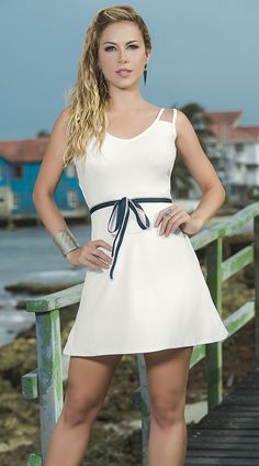 Ivory Slip Dress with Strappy Back http://divashq.com/ivory-slip-dress-with-strappy-back #sundresses #slipdresses #fashion