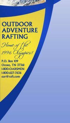 Ocoee River Tennessee Whitewater Rafting, outdoor adventure rafting white water in TN - OAR