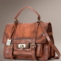 """New to us"" is Frye handbags. Come in and see our new selection arriving soon! View the entire collection at TheFryeCompany.com!"