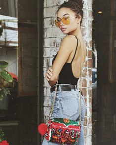 "20.8k Likes, 62 Comments - Ashley Moore (@ashley_moore_) on Instagram: ""In love with my new @soukiemodern bag! All mine! """