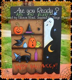 Painting With Friends E Pattern - Are you Ready? - Painted by Sharon Bond