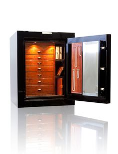 The Gem 2418 is one of our most compact luxury jewelry safe offerings, making it the ideal solution for a convenient high-security safe in areas where space is at a premium.