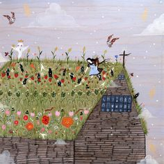 The Church Roof Garden by Rebecca Artemisa, via Flickr