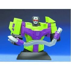 """Transformers Devastator Bust by Hard Hero. $29.94. Numbered Edition of 3,500.. Sculpted by Jason Ray, the Devastator bust measures a whopping 8 ½"""" tall and 9"""" wide, and comes packaged in a full-color collectors box, ready to display.. Transformers Devastator Bust"""