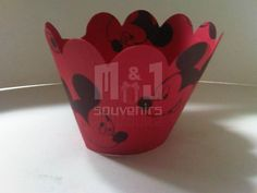 Wrapper para  cupcake Tematica : Mickey Mouse