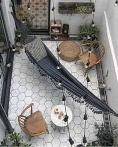 Get inspired by these outdoor decor trends, perfect for creating a dreamy summer hangout space and bringing staycation vibes to your own backyard or patio. Outdoor Living Space, Wall Tiles Design, Fire Pots, Small Backyard, Outdoor Decor, Backyard Design, Balcony Decor, Outdoor Furnishings, Patio Interior