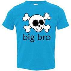 Inktastic Little Boys' Big Bro Skull Brother Toddler T-Shirt 4T Turquoise inktastic http://www.amazon.com/dp/B00S9HJDZE/ref=cm_sw_r_pi_dp_qPXrvb1850AQ3