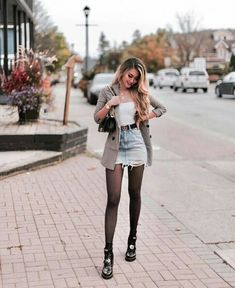 Fitness goals 785667097478511712 - Aktuellste Kostenlos Rock mujer Tipps, Source by Winter Fashion Outfits, Fall Winter Outfits, Look Fashion, Spring Outfits, Autumn Fashion, Womens Fashion, Gothic Fashion, Fall Skirt Outfits, Flannel Outfits