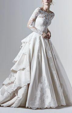 Dream Wedding Dresses, Bridal Dresses, Wedding Gowns, Wedding Attire, Wedding Bride, Wedding Ideas, Cinderella Wedding, Cinderella Dresses, Bride Groom Dress