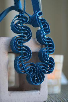 Handmade Necklace by my friend Carolyn! Pretty!