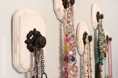 LJ -- this looks like a project for you -- knob necklace holders