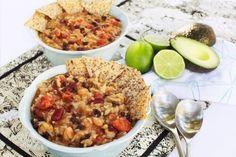 A delicious vegan Mexican rice soup recipe!