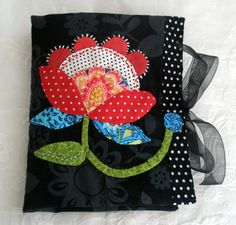needle case with hand applique
