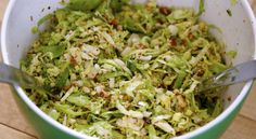 CLEAN BRUSSELS SPROUT SALAD recipe @ https://www.facebook.com/photo.php?fbid=609614389126379&set=a.585424158212069.1073741830.585066831581135&type=1&theater&notif_t=photo_comment