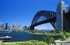 I am a Lawn Mowing in Sydney NSW, Australia. Sydney Harbour Bridge, Sidney Australia, Kent Street, Attraction Tickets, Darling Harbour, Arch Bridge, Lawn Maintenance, Wide World, Travel Aesthetic