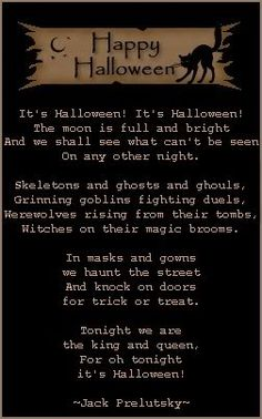 halloween poems | Some Halloween Trivia and Fun Facts