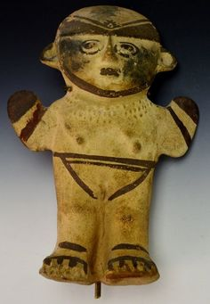 Pre Colombian Chancay Female Modeled Hollow Figure: Ex Sotheby's, #949