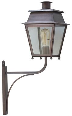 Noble Historical Outdoor Wall Lantern Bordeaux MM by Atelier Lumin'Art
