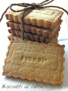 I dolci nella mente: Biscotti al latte del buondì