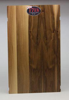 Walnut Wood Menu Board with logo uv color printed. Wood Menu, Menu Boards, Fort Collins, Walnut Wood, Custom Wood, Bamboo Cutting Board, Restaurants, Rustic, Printed