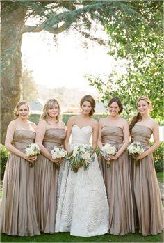 Amsale ,  Luna Bella ,  Pat Moyer ,  country club  ,  Bridal Party ,  Real Wedding ,   ,  beautiful