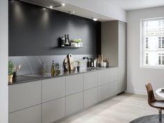 42 The Hidden Gem of Home Interior Design Contemporary Kitchen Decor homevign Modern Kitchen Design, Interior Design Kitchen, Küchen Design, House Design, Design Ideas, Design Styles, Design Projects, Home Decor Kitchen, Nice Kitchen