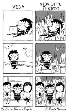 Vida   Vida en tu periodo.