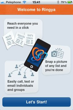 Manage & Share Attendee Information with the Ringya app
