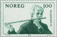 Stamps on Music. Norway