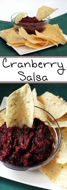 This unusual salsa is always a crowd-pleaser! It is quick and easy to make, and the perfect snack to throw together at the last minute when you have people coming over.