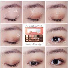 Korean makeup tips! Beauty Advice For Novices And Experts Alike Korean Makeup Look, Korean Makeup Tips, Asian Eye Makeup, Korean Makeup Tutorials, Eyeshadow Tutorials, Makeup Inspo, Makeup Inspiration, Beauty Makeup, Hair Makeup