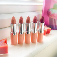 Rimmel Lasting Finish By Kate Nude Collection - Review