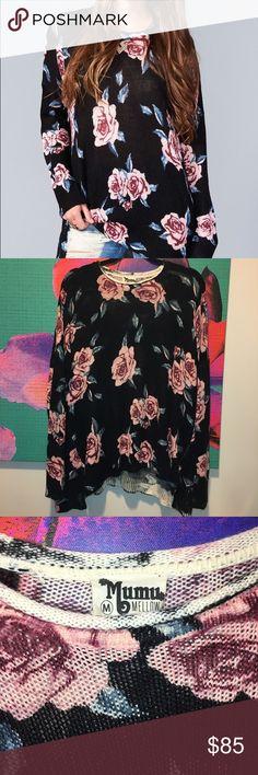 ✨ Show Me Your Mumu - Bonfire Sweater Flower Hour EUC SMYM bonfire sweater in Flower Hour size medium. Retails $146. Show Me Your MuMu Sweaters Crew & Scoop Necks