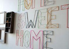 Creative: Eleven Amazing String Art DIYs  (via DIY | Nail and Yarn Wall Art « Jen Loves Kev)