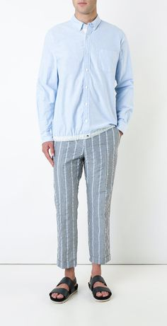 Unearth the best men's designer cropped trousers from the luxury edit at Farfetch. Find men's crop trousers from ground-breaking labels now. Find Man, Cropped Trousers, Street Wear, Pajamas, Sew, Mens Fashion, Shopping, Collection, Design