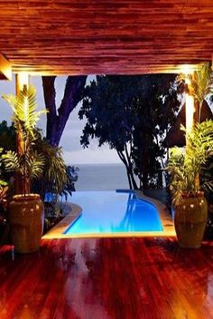 How about this private pool. The Bending Pool at Namale Resort & Spa,Fiji. Spas, Dream Vacations, Vacation Spots, Oh The Places You'll Go, Places To Travel, Travel Destinations, Winter Destinations, Casa Bunker, Infinity Pools