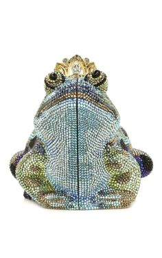 Judith Leiber William Frog Prince Evening Bag Womens Purses Vintage Beaded