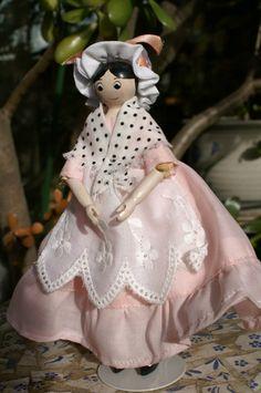 "6"" Racketty Packetty Wooden Doll | eBay"