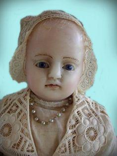 wax doll, Wachspuppe  - *1880  Montanari  - 56cm  Sammlung: Lommel