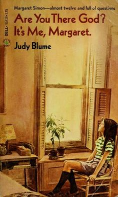 Are You There God? It's Me, Margaret by Judy Blume. This book started my love for Judy Blume This Is Your Life, This Is A Book, I Love Books, Great Books, The Book, Books To Read, My Books, Reading Books, Reading Club