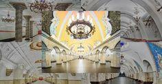 Photos of Russias Gorgeous Soviet Era Metro Stations