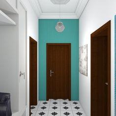 Vstupní prostor do bytu/vysoký strop