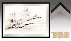 Obrazy na plotnie do salonu Zurawie Seria Shanghai - Nowoczesne obrazy do salonu i sypialni. Ręcznie zdobione. Survival